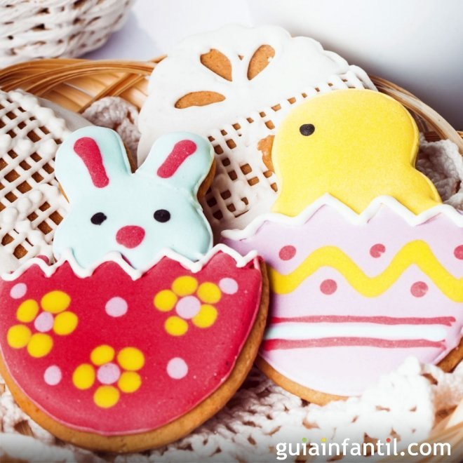 Ideas para decorar galletas de Pascua