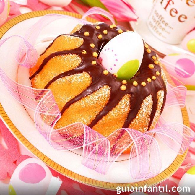 Ideas para decorar tartas de Pascua
