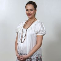 Famosas embarazadas. Moda de calle primavera verano