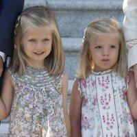Niñas princesas de las Familias Reales europeas