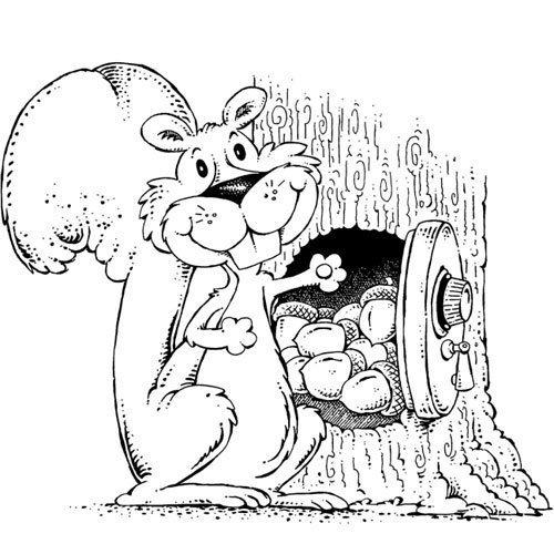 ¿Quién hace en los troncos su oscura casita y allí esconde, avara, cuanto necesita?