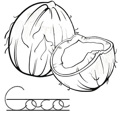 Dibujos para pintar de coco - Imagui