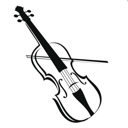 Instrumentos de cuerdas para colorear - Imagui