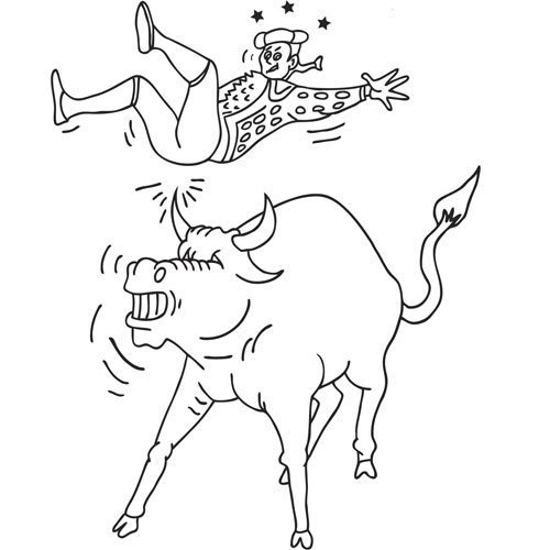 Dibujos de toreros para colorear - Imagui