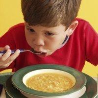 Recetas de sopas para niños