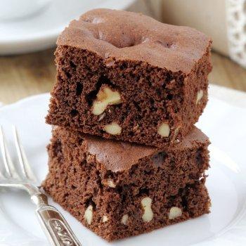 Brownies sin gluten para niños