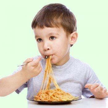 Recetas de espaguetis para niños