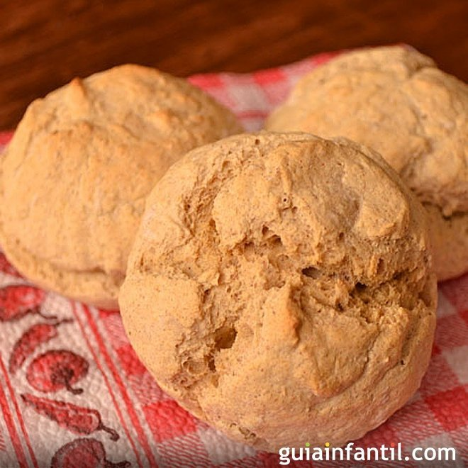 Pan casero de garbanzo. Recetas fáciles para niños