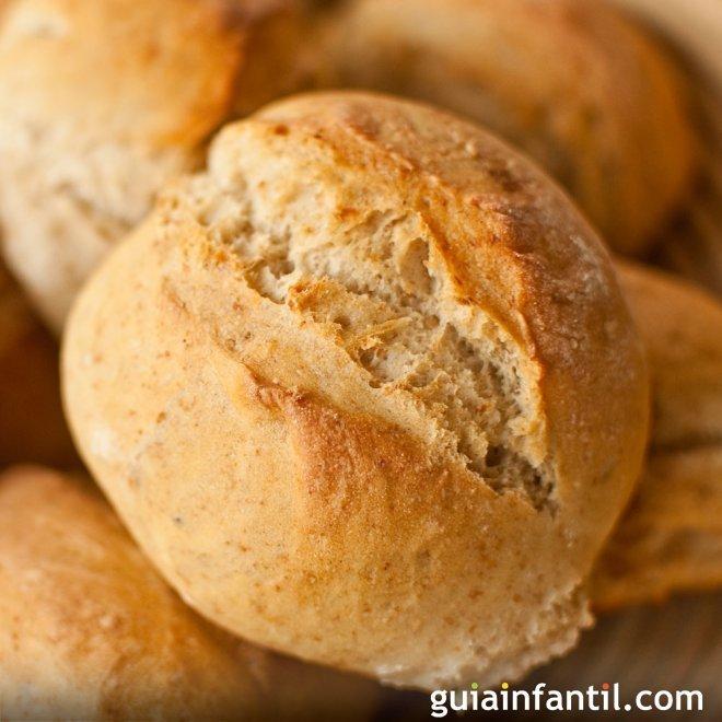 Pan de patata. Receta casera para los niños