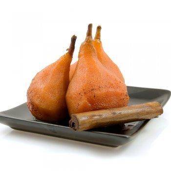 Peras al horno