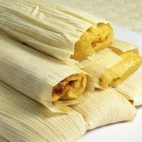 Tamales de pollo. Receta mexicana para niños