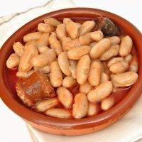 Fabada asturiana al estilo tradicional. Receta para niños