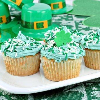 Cupcakes para San Patricio