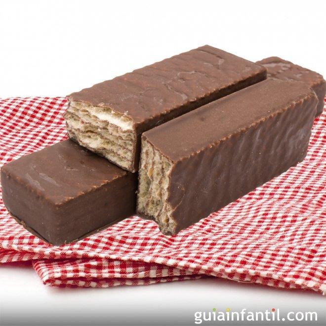Receta de 'Huesitos'. Galleta con chocolate para niños
