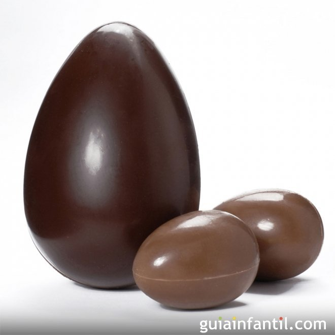 Cómo hacer un huevo de chocolate paso a paso