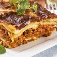 Receta de lasaña tradicional italiana para niños