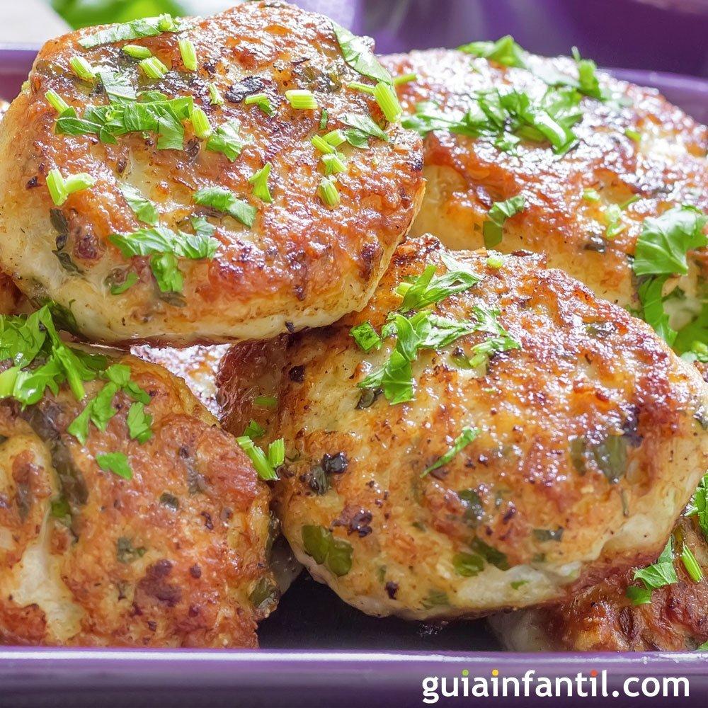 Hamburguesas caseras de pollo receta f cil y r pida for Comida rapida y facil de preparar en casa