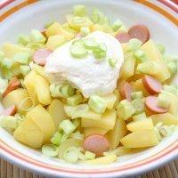 Ensalada alemana. Receta de Kartoffelsalat