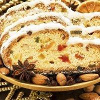 Receta de Stollen navideño. Pan dulce alemán