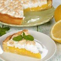 Tarta de limón con merengue. Recetas de postres