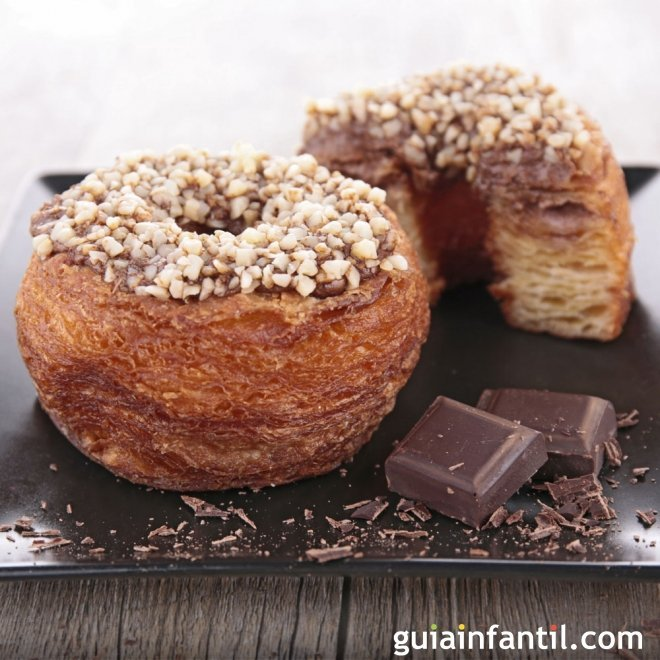 Cronut. Receta de donut y croissant