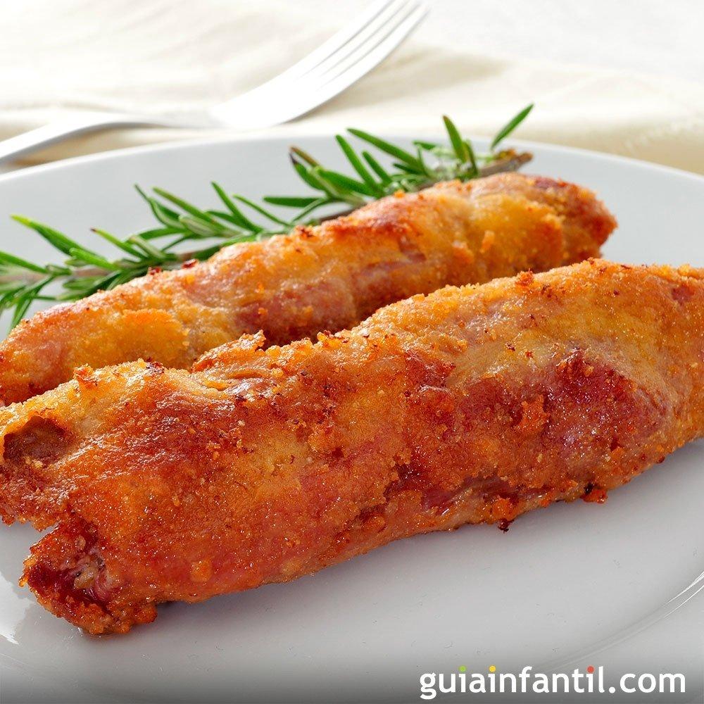 Receta de rollitos de esp rragos con jam n for Cocinar esparragos