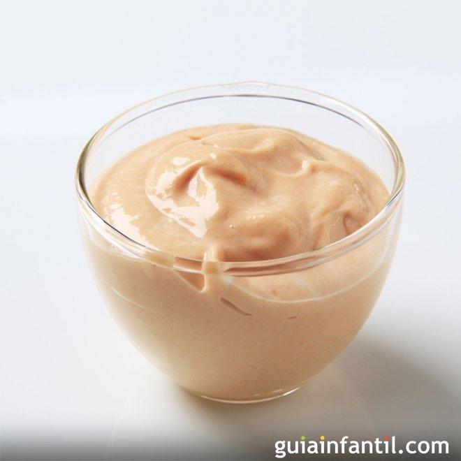 Cómo hacer salsa rosa o salsa de cóctel