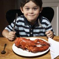 Recetas de mariscos y frutos del mar para niños