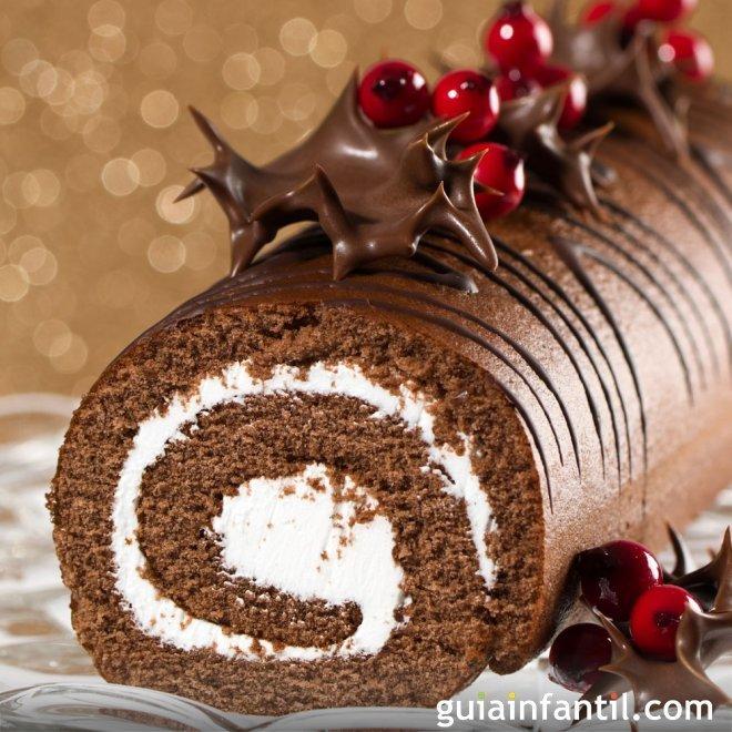 Tronco de Navidad - Recetas navideñas