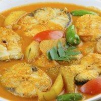 Merluza al curry. Recetas indias para niños