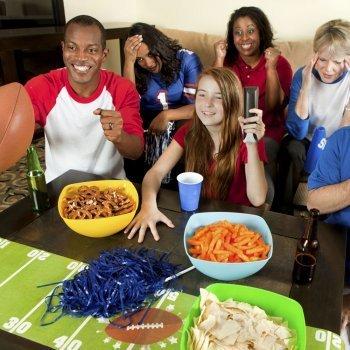 Aperitivos para la Super Bowl en familia