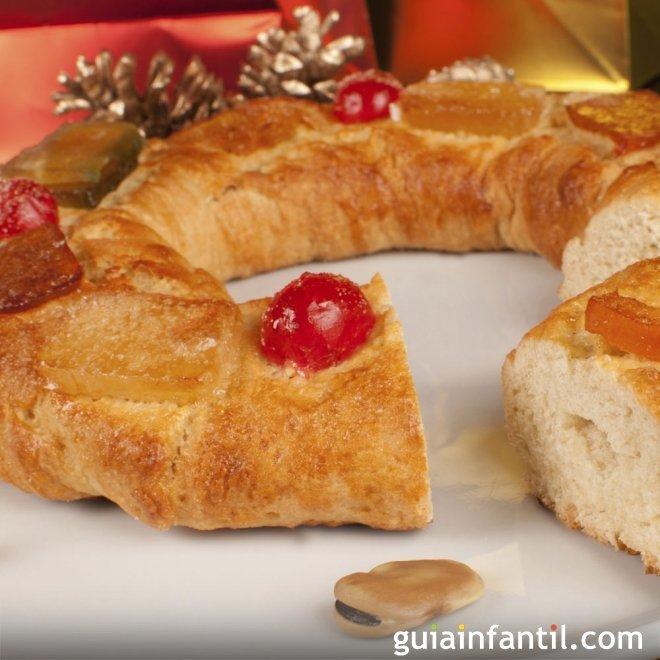 Roscón de Reyes sin gluten para celíacos