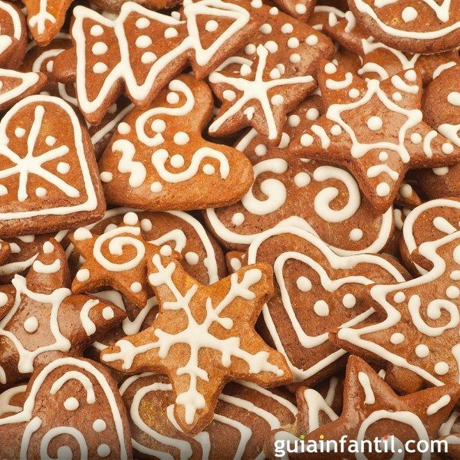 Galletas navideñas de jengibre