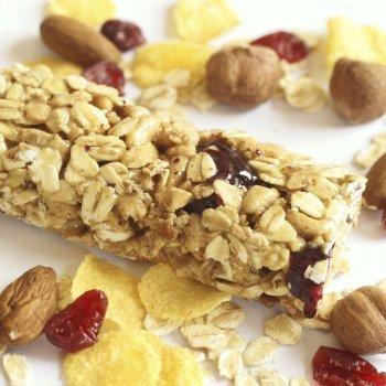Barritas de cereales con frutos secos
