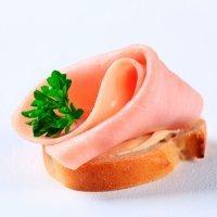 Cuadraditos de jamón cocido para diabéticos