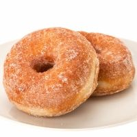 Donuts caseros glaseados con azúcar