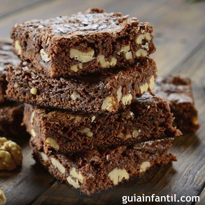 Receta de brownie de chocolate fácil en la Thermomix