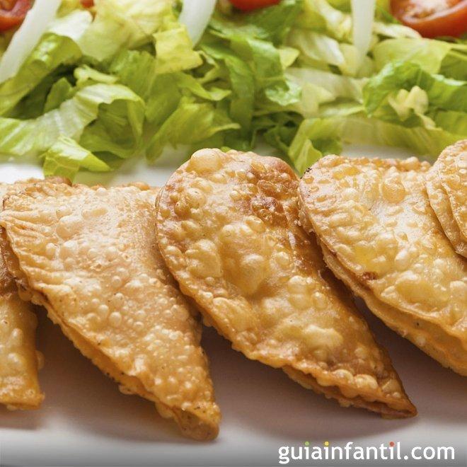 Empanadillas de atún sin gluten
