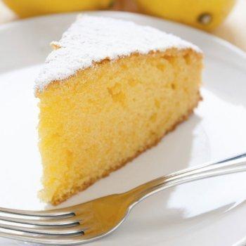 Bizcocho de limón para celiacos