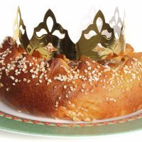 Roscón de Reyes casero para niños