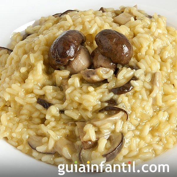 Risotto de setas receta tradicional italiana - Rissotto de setas ...