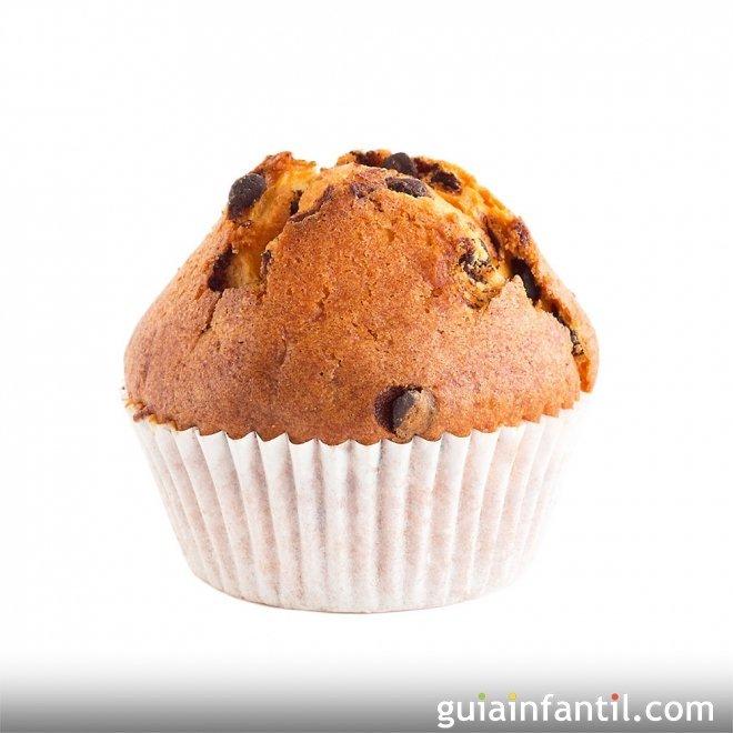 Muffins de galletas Oreo, paso a paso