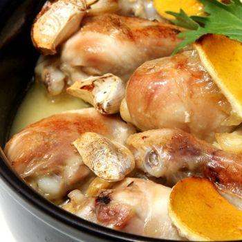 Pollo al ajillo, receta de la abuela