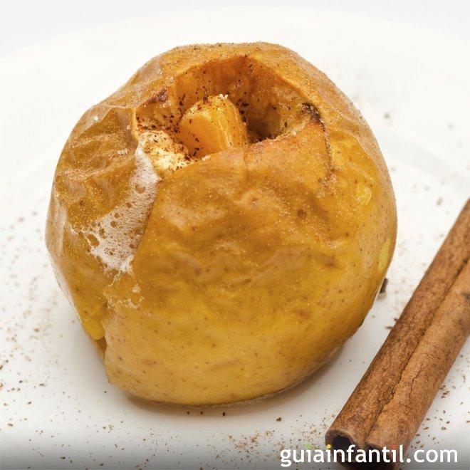 Manzanas asadas al horno al estilo tradicional