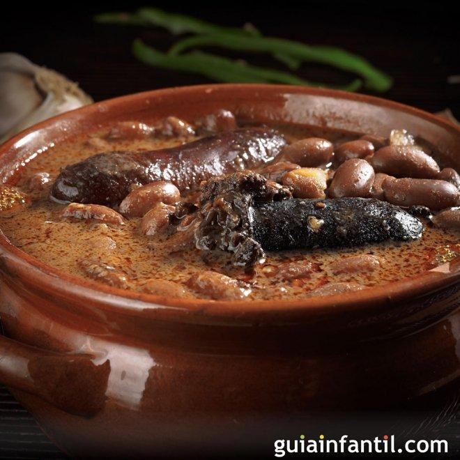 Pote asturiano, guiso tradicional