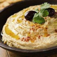 Hummus. Receta de puré de garbanzos para niños