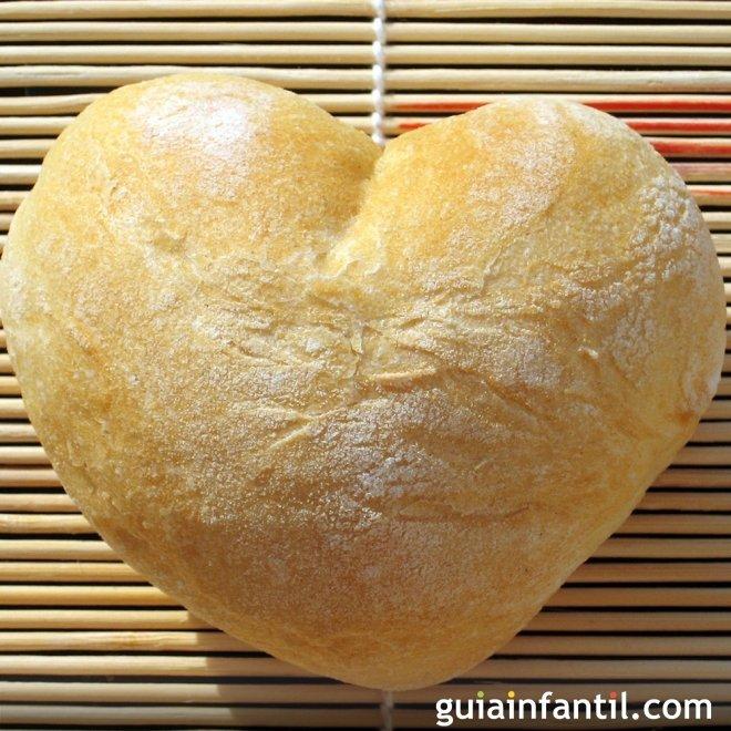 Panecillos de corazón para San Valentín, receta paso a paso