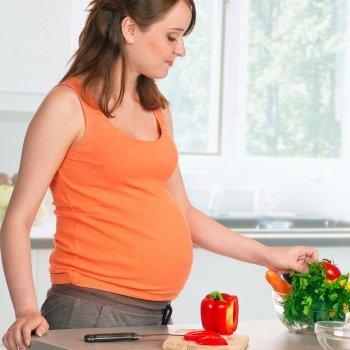 Recetas para el menú completo de mujeres embarazadas