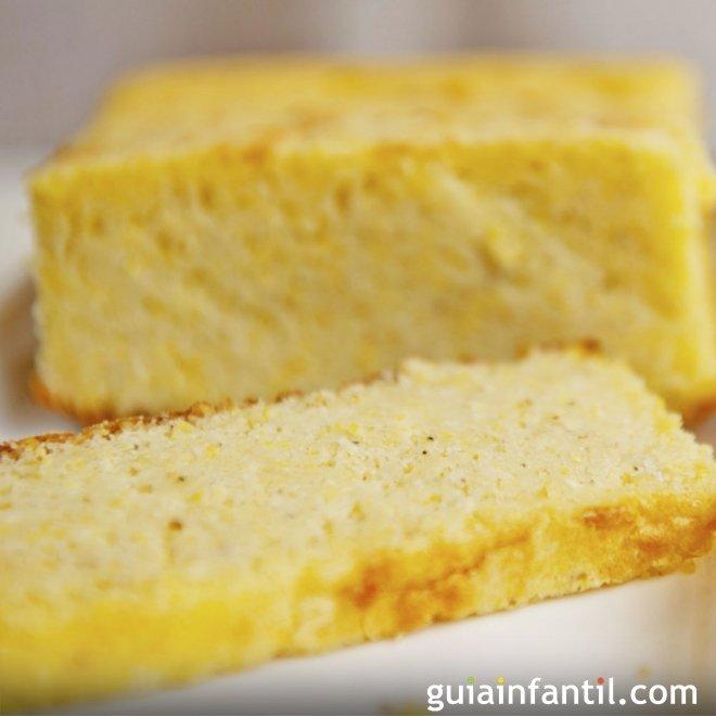 Bizcocho de limón vegano con soja