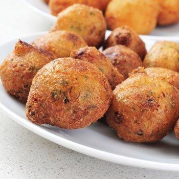 Buñuelos de bacalao sin gluten